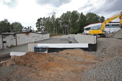 29 juni 2016 - Och på Skärmons industriområde fortsatte wermland mechanics att bygga ut fabriken.