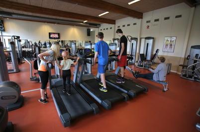 2 juli 2016 - Gymmet i Töcksfors invigde nya träningslokalen, med öppet hus och prova på verksamhet.
