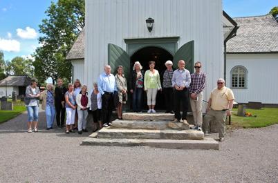 5 juli 2016 - Runar Patriksson stod för guidad visning av Töcksmarks kyrka.