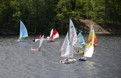 8 juli 2016 - Och så var det dags för Foxen Ocean Race, som avslutning på årets Seglarskola.