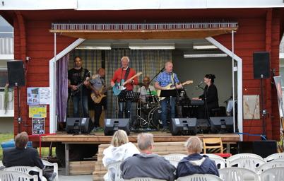 10 juli 2016 - Konserten med Blues och Lovebandet avslutade årets Töcksmarksvecka.