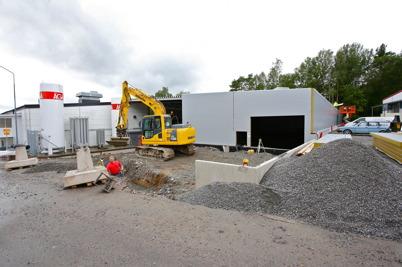 8 augusti 2016 - Och wermland mechanics byggde ut fabriken.