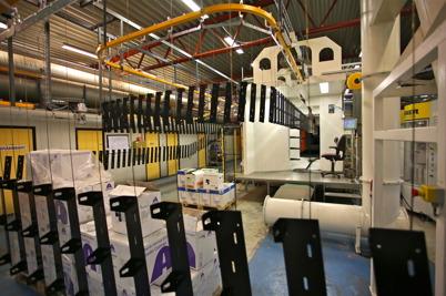 11 augusti 2016 - APS Pulverlackering gjorde en miljoninvestering i en ny lackeringsanläggning.