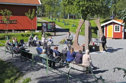 14 augusti 2016 - Töcksmarks församling höll friluftsgudstjänst i nya Kanalparken.