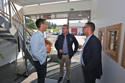 26 augusti 2016 - Många kom för att lyckönska när Nordic solar hade öppet hus.