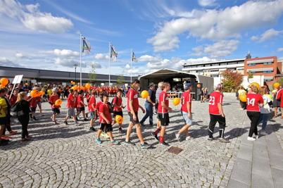 27 augusti 2016 - I Årjäng ordnade Westra Wermlands Sparbank den stora Föreningsdagen.