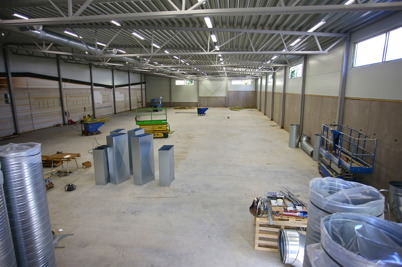 5 september 2016 - Wermland mechanics utbyggda fabrik färdigställdes.