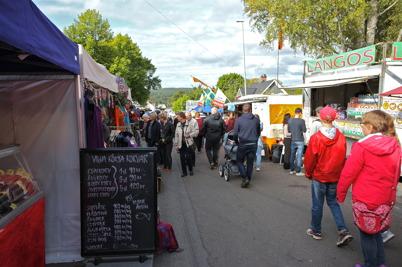 17 september 2016 - Och i Årjäng var det höstmarknad.