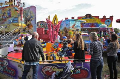 17 september 2016 - Tivolit på höstmarknaden i Årjäng var naturligtvis populärt.