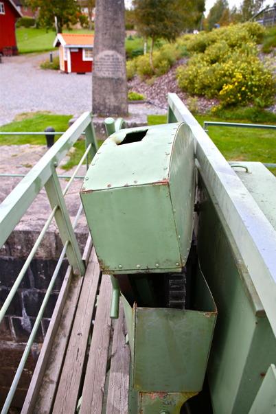 22 september 2016 - Dalslands Kanal tvingades avbryta slussningssäsongen tidigare p g a ett tekniskt haveri i norra slussen.