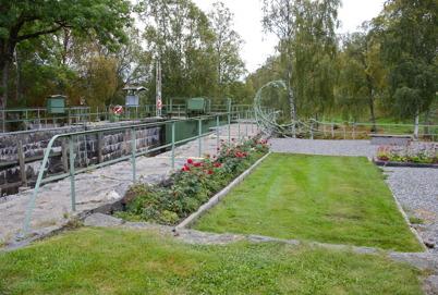 22 september 2016 - Rosorna blommade i Kanalparken.
