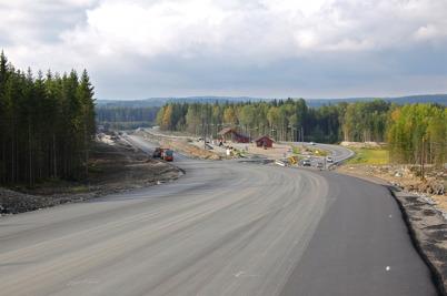 25 september 2016 - På norska sidan gick arbetet med nya E18 framåt.