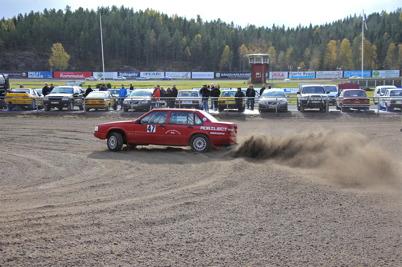 8 oktober 2016 - Finalen i Historiska Sprint & Back Cupen kördes vid Årjängs travbana.