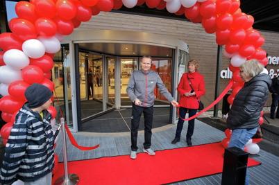 14 oktober 2016 - Och så var det dags att för invigning av nya ICA Supermarket i Handelsparken.