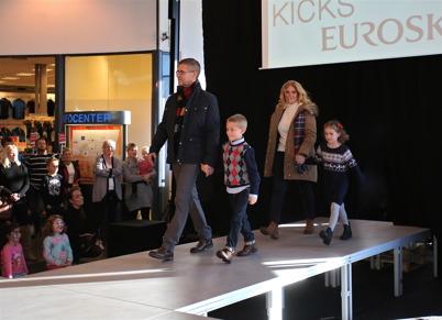 29 oktober 2016 - I samband med shopping-centrets 11-årskalas visades höstens mode.