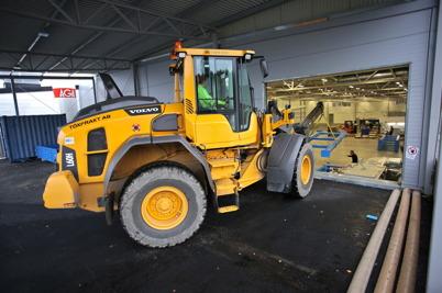 1 november 2016 - Så var det dags att inreda wermland mechanics nya fabriksdel.