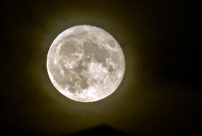 15 november 2016 - Och så kunde vi beskåda den s k Supermånen.