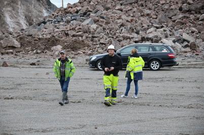 21 november 2016 - Sprängarna kunde konstatera att första sprängsalvan vid Hagavallen gick som planerat.