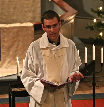 27 november 2016 - I Töcksmarks kyrka var det Adventsmässa med församlingsprästen Nils Anshelm.
