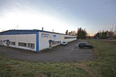 13 december 2016 - Renoveringen av industrifastigheten vid Bruserud, som Nokalux köpt, påbörjades.