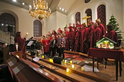 17 december 2016 - I Västra Fågelviks kyrka kunde man njuta av den traditionella julkonserten.