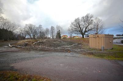 22 december 2016 - Vid Älverud började allt bli klart för byggstarten av nya väganslutningen till E18.