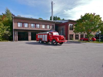 9 september 2013 - utryckning till skogsbrand i Östegård.