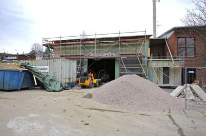 16 mars 2015 - Sanering av fastighetens grund efter ett gammalt utsläpp av eldningsolja.