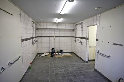 13 oktober 2015 - Duschrummet för Räddningstjänsten.