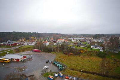 6 november 2015 - Utsikt från Räddnings-tjänstens skylift.