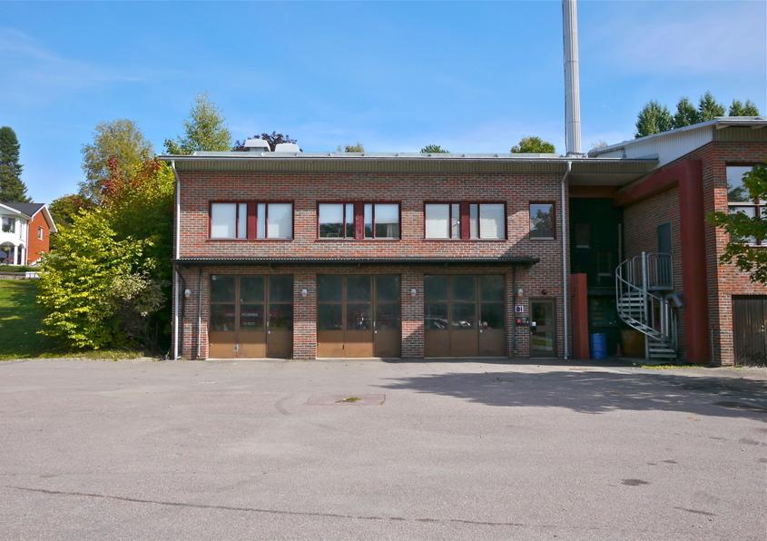 Töcksfors brandstation 1970-talet till 2013.