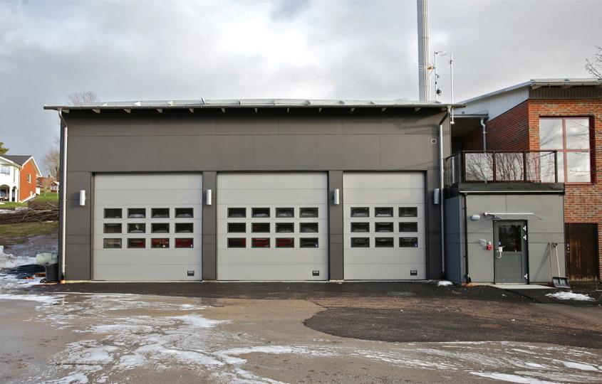 Töcksfors brandstation 2016 -