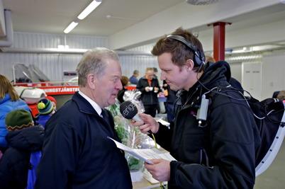 Räddningschefen Roger Jansson intervjuades av SR P4 Värmland.