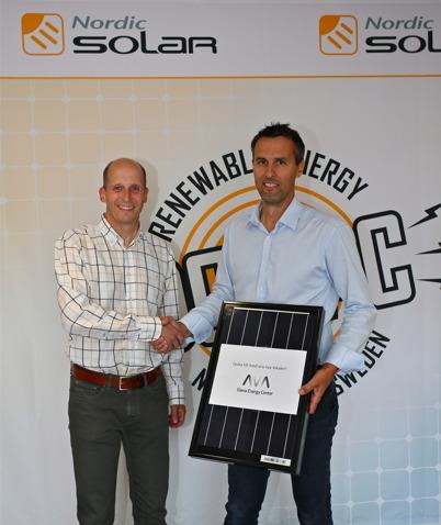 Magnus Nilsson från Glava Energy Center.