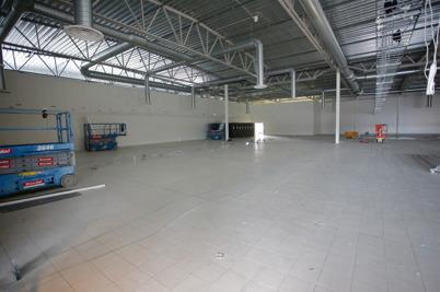 14 mars 2016 - Gamla RUSTA lokalen blir nu en del av ICA butiken.