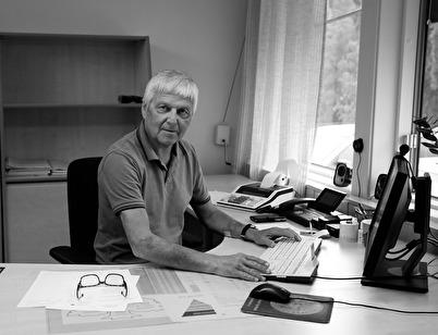 Kjell-Anders Dahlström 2017-08-10, sista arbetsdagen på Westra Wermlands Sparbank.