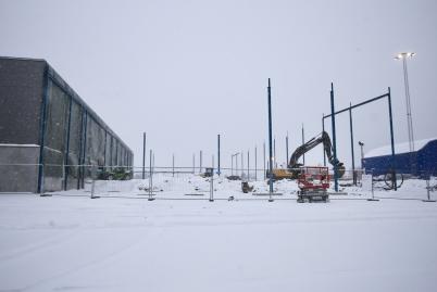 4 januari 2017 - Företaget Flexit byggde ut fabriken och kontoret.