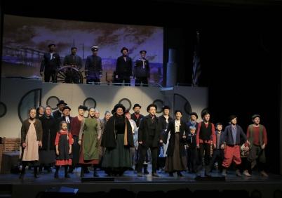26 januari 2017 - I Årjäng spelade man musikalen Katarina av Amerika.