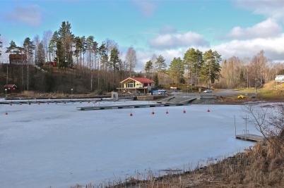 21 februari 2017 - Sandviken fick ett nytt landmärke.