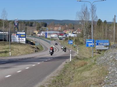 5 maj 2017 - Och så kunde man återigen se motorcyklister på vägarna.