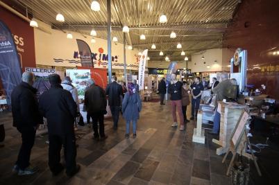 10 mars 2017 - I Töcksfors shoppingcenter arrangerades Mässan Möjligheternas Grenseland.