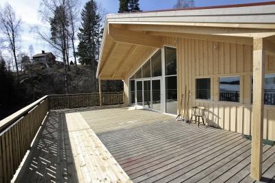 24 mars 2017 - Båtklubbens nya stuga färdigställdes.