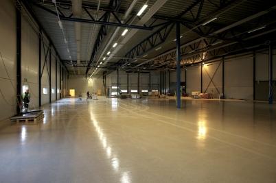 15 maj 2017 - Flexit´s nya industrihall var i det närmaste klar för invigning