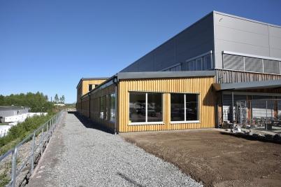 1 juni 2017 - Flexit´s nya kontor var i det närmaste klart för invigning.