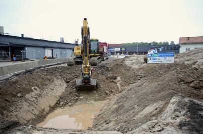 9 juni 2017 - Vid Älverud grävde man.