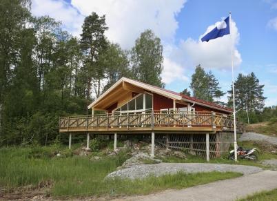 14 jui 2017 - I Sandviken stod Båtklubbens nya klubbstuga klar.