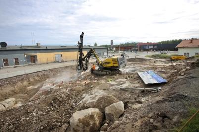15 juni 2017 - Vid Älverud grävdes det.