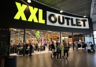 15 juni 2017 - Butiken XXL sport öppnade i shoppingcentret.