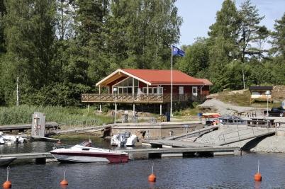 6 juli 2017 - Båtklubbens nya klubbstuga var tagen i bruk.