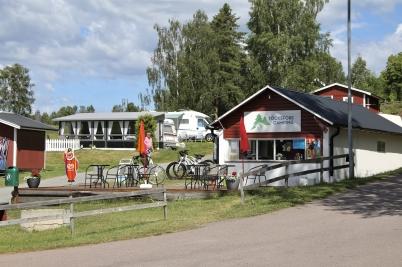 6 juli 2017 - Nya Töcksfors camping hade öppnat för säsongen.